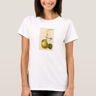 Vintager botanischer Druck - Birne T-Shirt