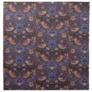 Vintager Erdbeerdieb Williams Morris Stoffserviette