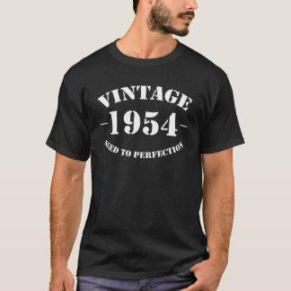 Vintager Geburtstag 1954 gealtert zur Perfektion T-Shirt