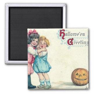 Vintager Halloween-Gruß Magnets