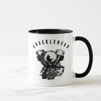Vintager Harley Knucklehead-Motorrad-Motor Tasse