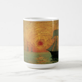Vintager Impressionismus, roter Sun durch Maxime Tasse