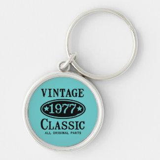 Vintager Klassiker 1977 Schlüsselanhänger
