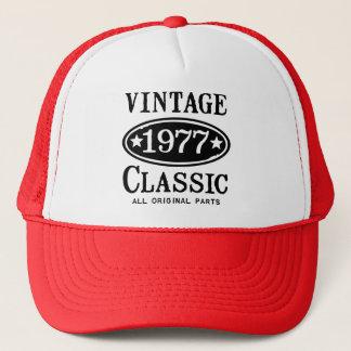 Vintager Klassiker 1977 Truckerkappe