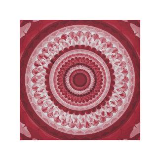Vintager Mandala Gespannte Galeriedrucke