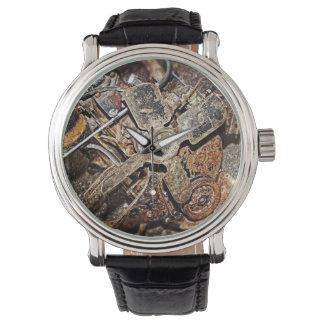 Vintager Motor Uhr