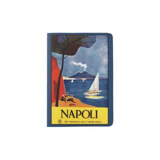 Vintager Napoli (Neapel) Italien Passhalter Passhülle