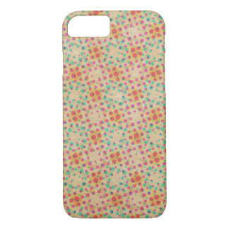Vintager Polka-Punkt-Muster iPhone 7 Fall iPhone 8/7 Hülle