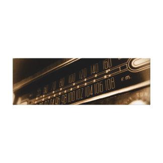 Vintager Radio Leinwand Drucke