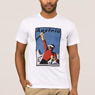 Vintager Reise-Österreich-Ski-Sport T-Shirt