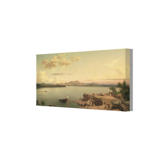 Vintager See George durch Martin Johnson Heade Leinwanddruck