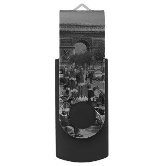 Vintager Siegesbogen Frankreichs Paris USB Stick