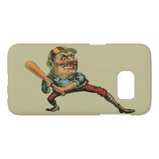 Vintager Sport, verärgerter Baseball-Spieler