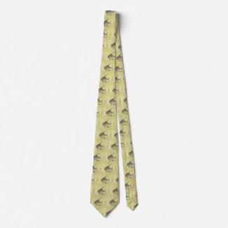 Vintager Threadfin Trevally, afrikanischer Personalisierte Krawatten