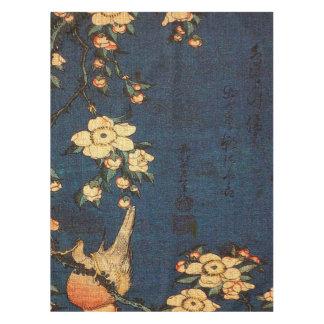 Vintager traditioneller japanisches Papier-Druck Tischdecke