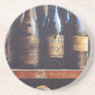 Vintager Wein Getränkeuntersetzer