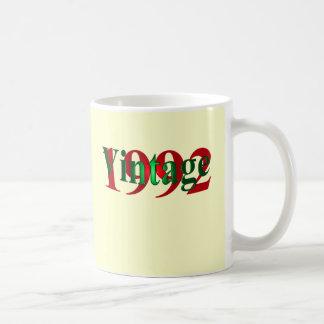 Vintages 1992 kaffeetasse
