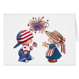 Vintages alles Gute zum Geburtstag Amerika Karte