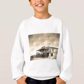 Vintages altes WestGebäude Sweatshirt