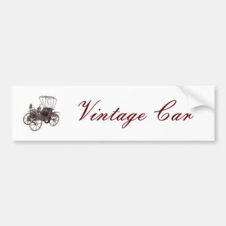 Vintages Auto Autoaufkleber