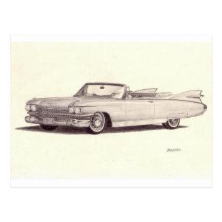 Vintages Auto: Cadillac-Eldorado Postkarte