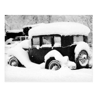 Vintages Auto Postkarte