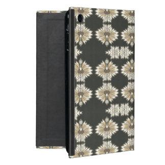 Vintages Blumen im Gold und im Schwarzen iPad Mini Schutzhülle