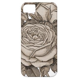 Vintages Blumen iPhone 5 Etuis