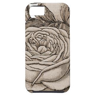 Vintages Blumen iPhone 5 Hüllen