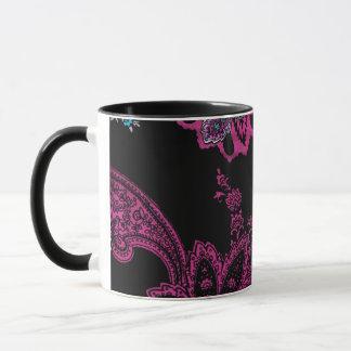 Vintages Blumentraummuster Tasse