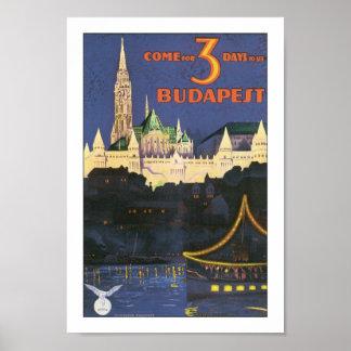 Vintages Budapest Poster