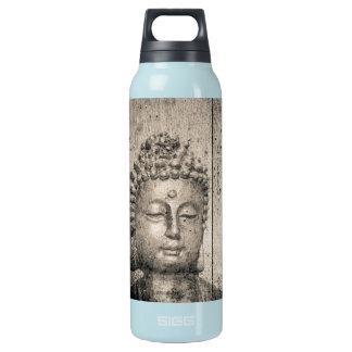 Vintages Buddha-Yoga Isolierte Flasche