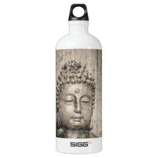 Vintages Buddha-Yoga Wasserflasche