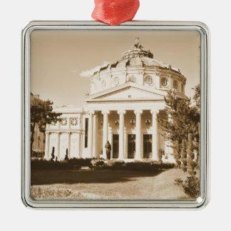 Vintages Bukarest Silbernes Ornament