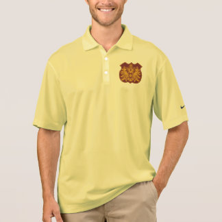 Vintages Druck-Pikee-Polo-Shirt Polo Shirt