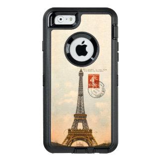 Vintages Eiffel-Turm OtterBox Verteidiger iPhone OtterBox iPhone 6/6s Hülle