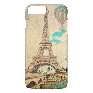 Vintages Eiffel-Turm-Paris iPhone 6+ Fall iPhone 8 Plus/7 Plus Hülle