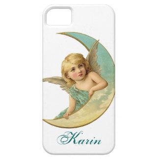 Vintages Engel und Mond iPhone Fall addieren Ihren iPhone 5 Hüllen