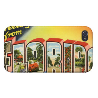 Vintages Florida iPhone 4 Cover