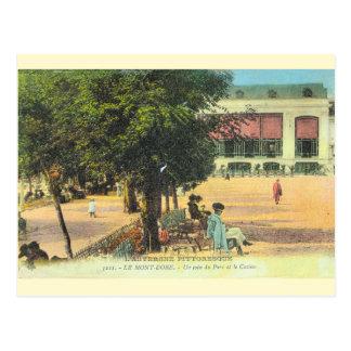 Vintages Frankreich,    Auvergne, La Mont Dore Postkarte
