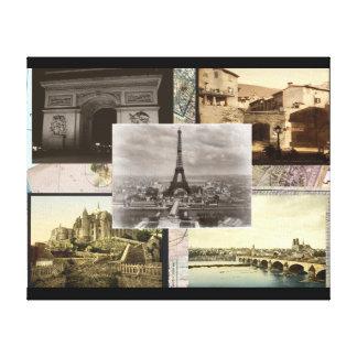 Vintages Frankreich Gespannte Galerie Drucke