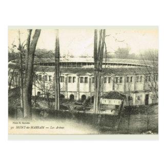 Vintages Frankreich Mont de Marsan, Arena Postkarte