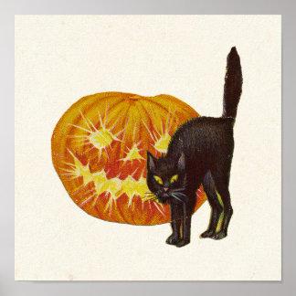 Vintages Halloween Poster