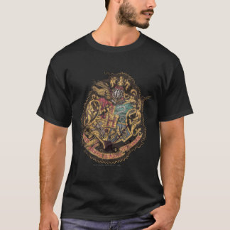 Vintages Hogwarts Wappen Harry Potter | T-Shirt