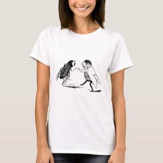 Vintages Insekten-Tanzen; Bluebottle-Fliege T-Shirt