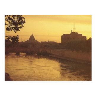 Vintages Italien, Castello Sant'Angelo Postkarten