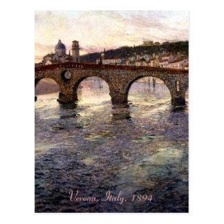 Vintages Italien (Verona, circa 1894) Postkarten