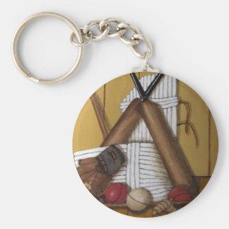 Vintages Kricket Schlüsselanhänger