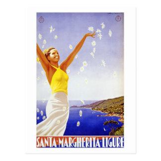 Vintages Ligure Savona Postkarte