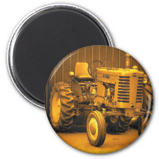 Vintages Maine Runder Magnet 5,7 Cm